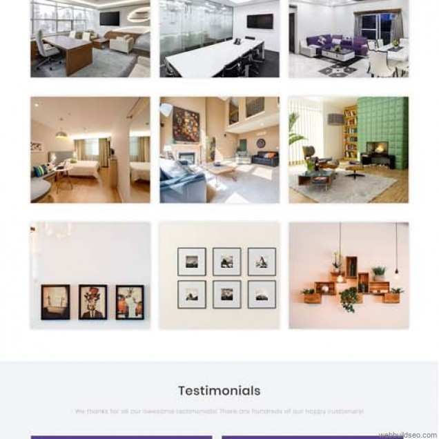 Case study on responsive website of interior design and decoration enterprises